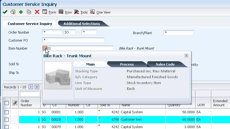 Using The Jd Edwards Enterpriseone Web Application User