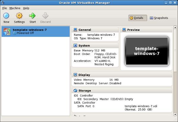 6. 3. Creating a new virtual machine in virtualbox.