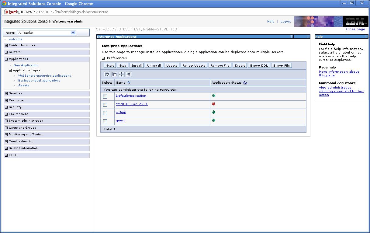define virtual host websphere application server