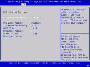 Io Gt Pci Hot Plug Settings Netra Blade X3 2b Formerly