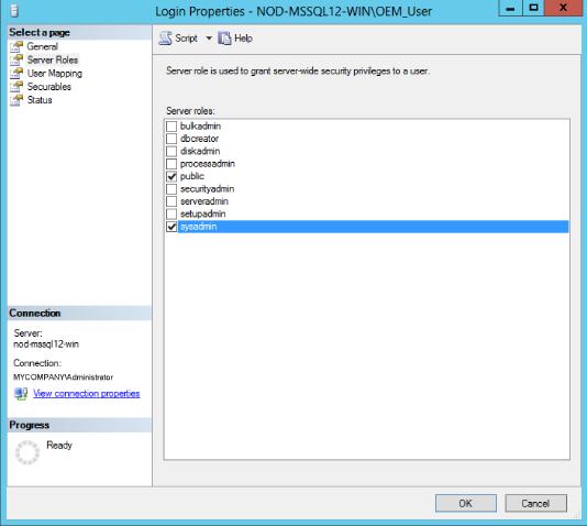 Troubleshooting Microsoft SQL Server Plug-in