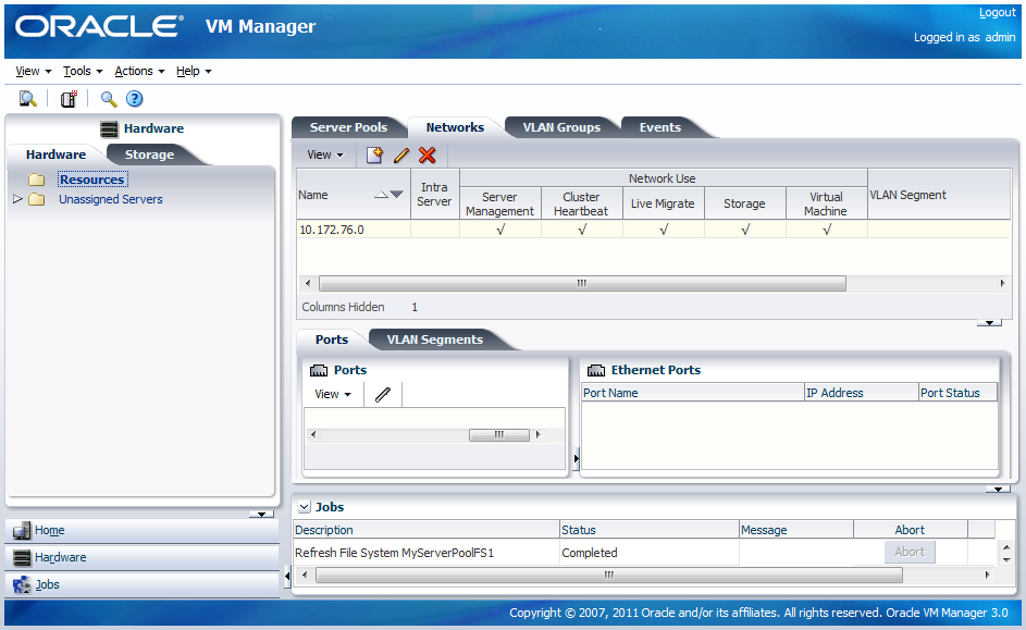 how to build a virtual machine network
