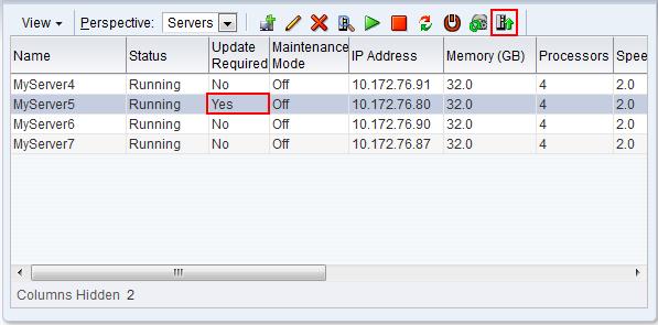 6 9  Managing Oracle VM Servers