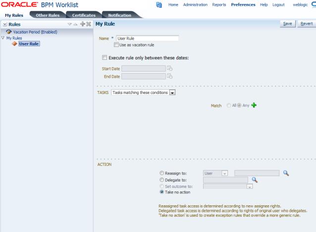 Using Oracle BPM Worklist