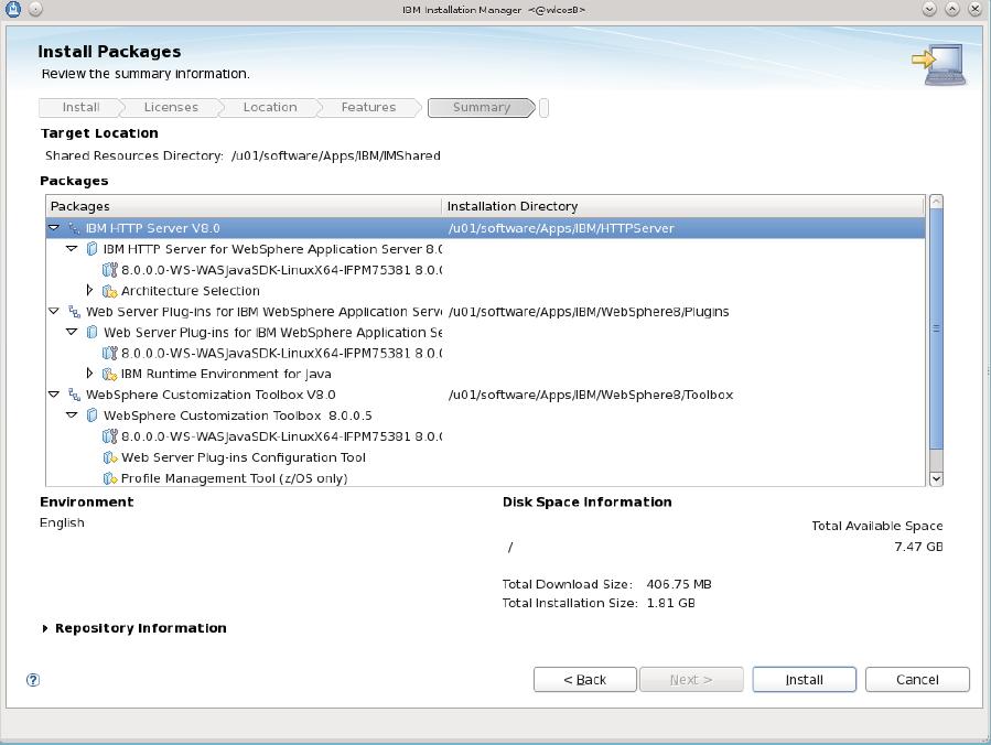 Installing IBM HTTP Server 8 0 and 8 5