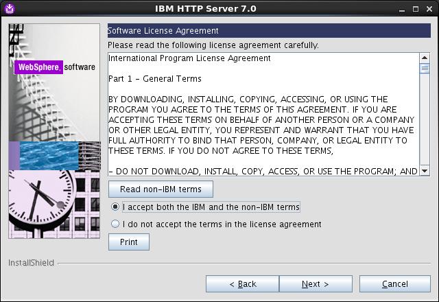 Installing Ibm Http Server 70