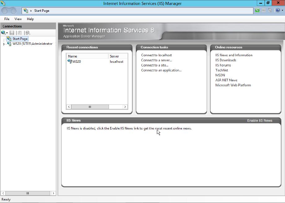 Installing Microsoft Internet Information Services 8.0 on Windows ...