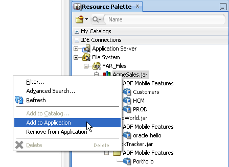how to add application password mobile