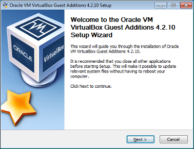guest additions virtualbox