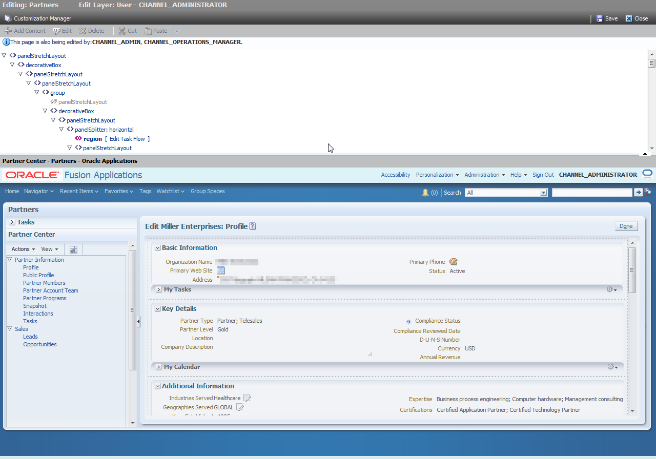 Uncategorized Fusion Page customizing and extending oracle fusion applications 11g release personalize page by moving or adding