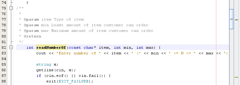 Adding Source Code Documentation - Oracle® Solaris Studio