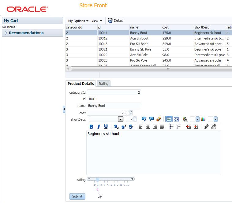 Oracle JDeveloper 12c Tutorials(12 1 2) - Developing User