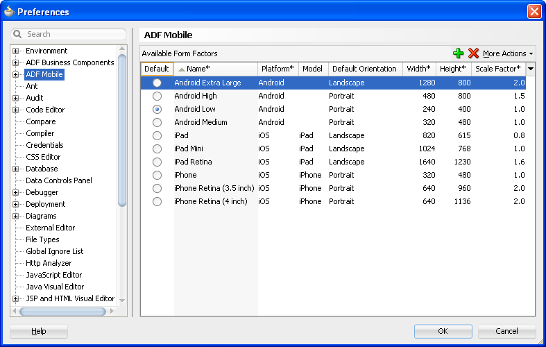 Setting Up the ADF Mobile Environment