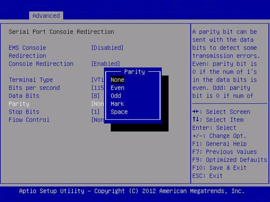 Legacy Mode BIOS Setup Utility Screens - Sun Server X4-4 Service Manual