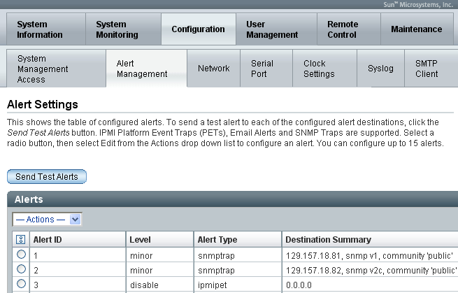 Configure SNMP Protocol Settings on Oracle ILOM SP - Oracle