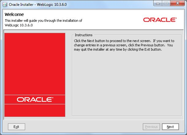 installing weblogic server rh docs oracle com Linux Installation Step by Step weblogic 10.3.6 installation guide linux