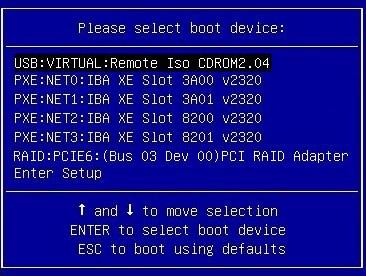 Install VMware ESXi Using Local or Remote Media - Oracle® Server X5