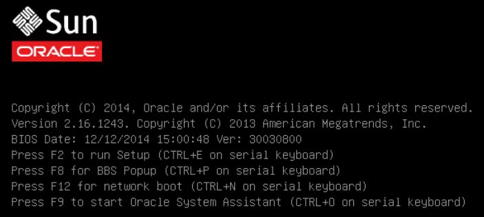 Install VMware ESXi Using Local or Remote Media - Oracle® Server X5