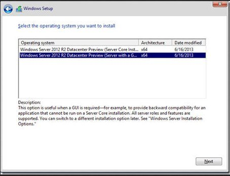 Install Windows Server 2012 or 2012 R2 Manually Using Local