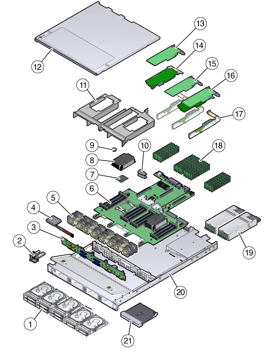 image:Figure showing exploded view of the system components.