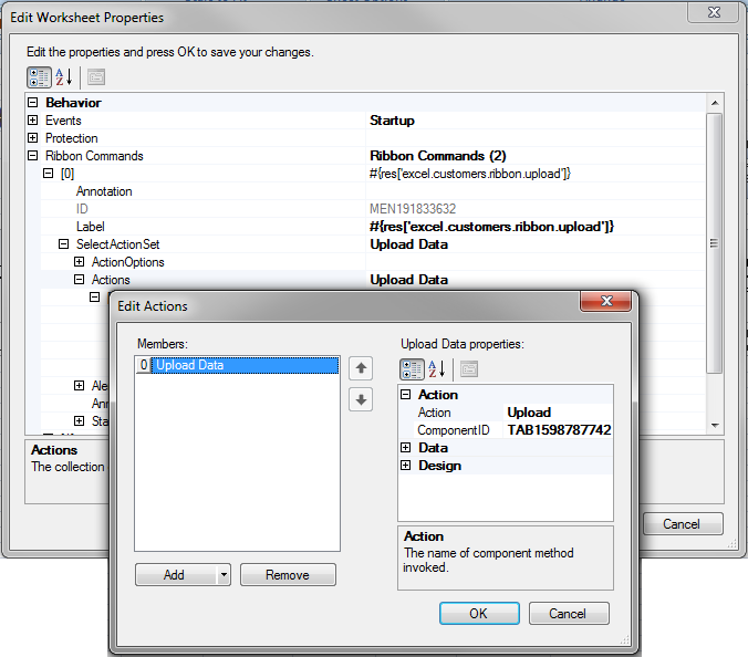 Adding Interactivity to Your Integrated Excel Workbook - 11g ...