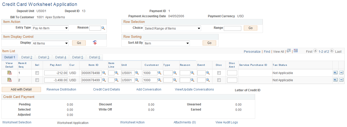 Worksheet Credit Card Worksheet creating credit card payments using the worksheet application page