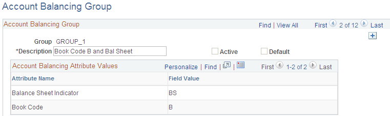 defining and using account types and attributes