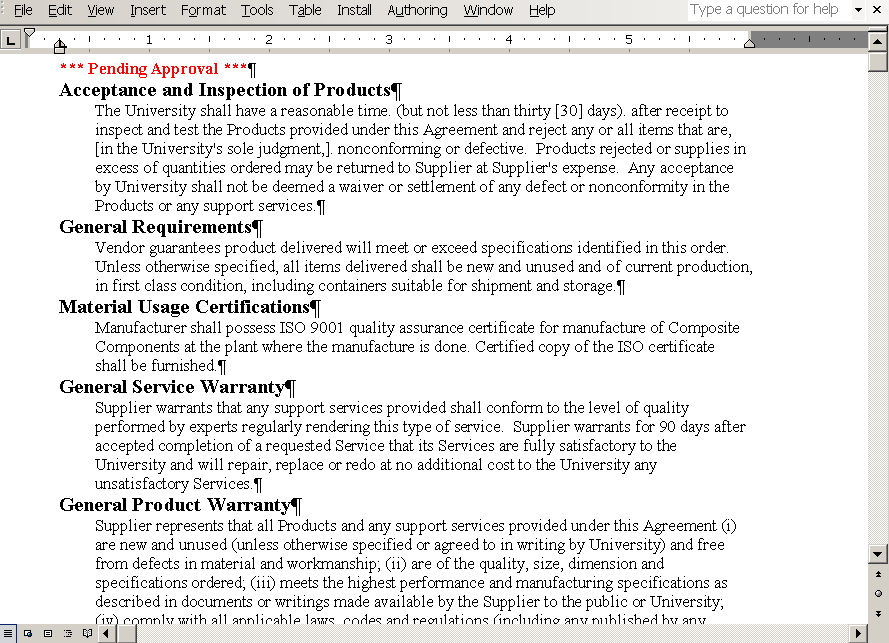 format and style considerations in microsoft word