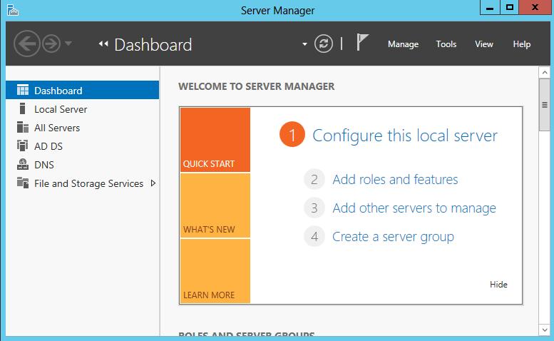 Windows 2012 ServerでのMicroso...