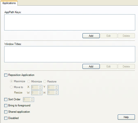 Using the Administrative Console to Configure Logon Manager
