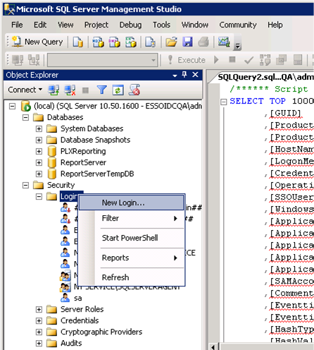 Using the Administrative Console to Configure the Reporting Client