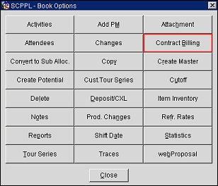 Contract Billing