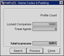 Padding Corporate ID and IATA Numbers