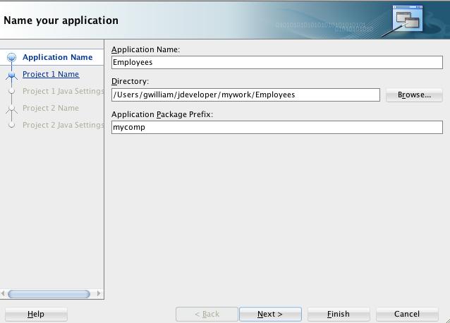 Oracle jdeveloper 12c 1213 tutorials building mobile create mobile app step 1 ccuart Choice Image