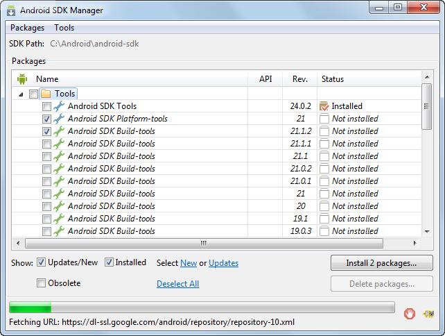 Oracle JDeveloper 12c (12 1 3) Tutorials - Setting Up Mobile