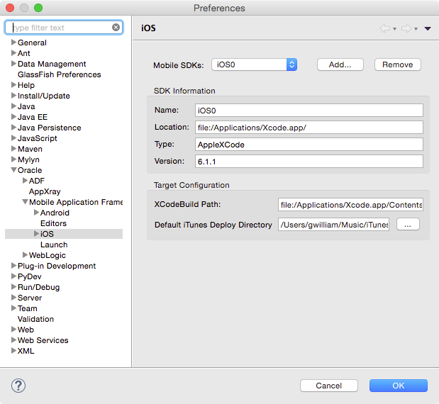 OEPE Tutorials - Setting Up for MAF Application development