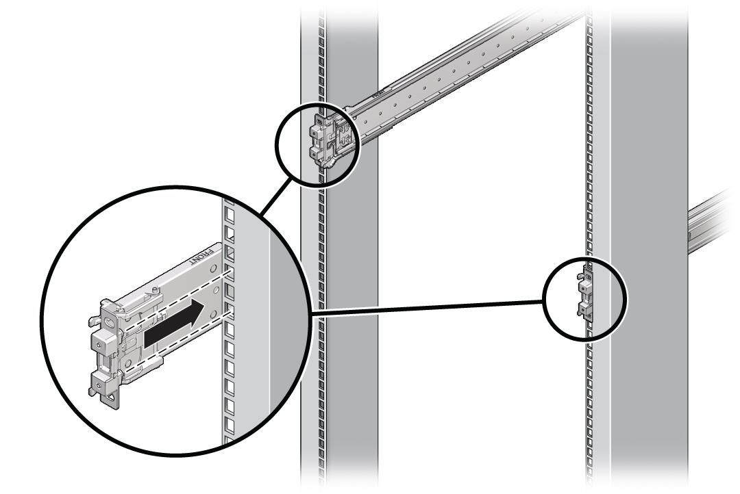 Fijación de conjuntos de guías deslizantes - Guía de instalación de ...