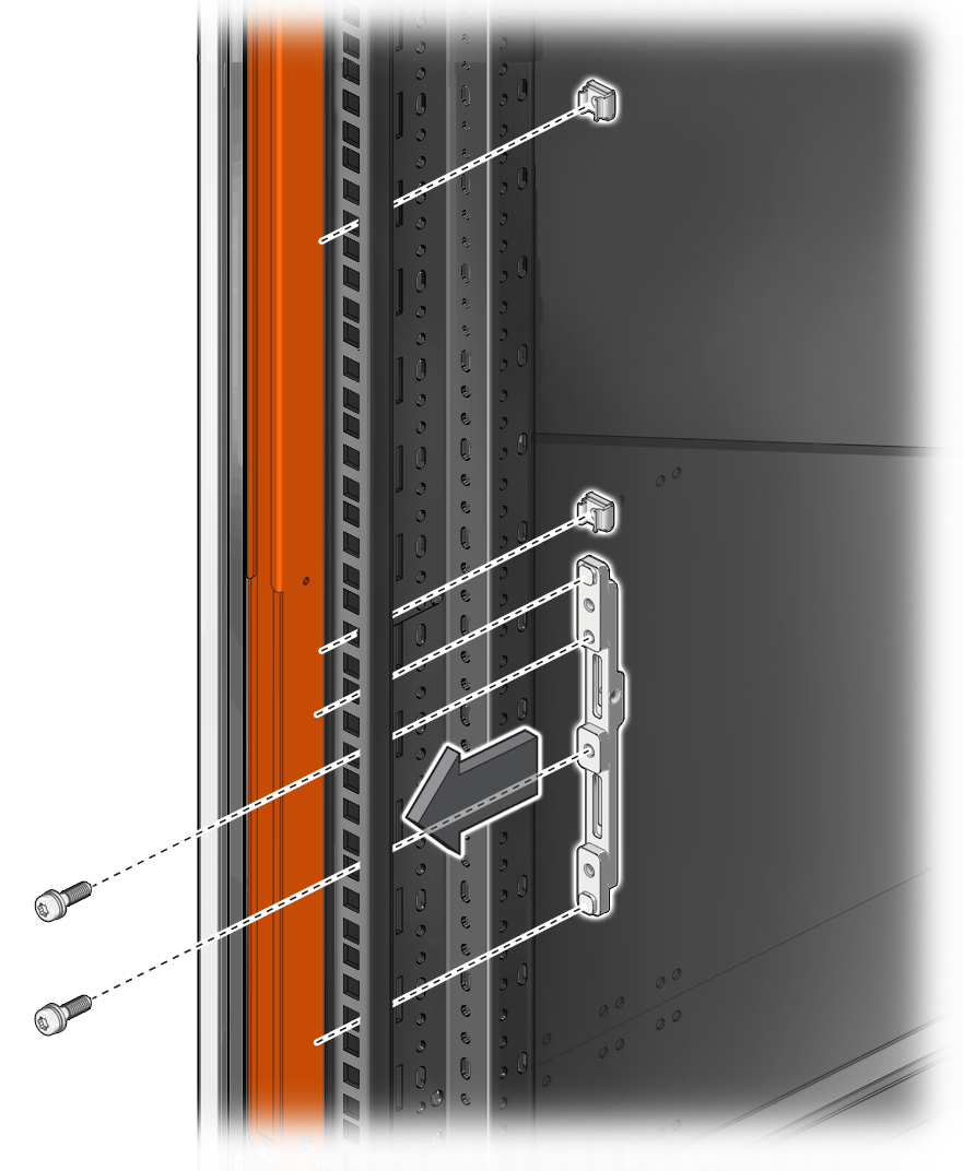 Install The Rackmount Shelf Rails Sparc M8 And Sparc M7