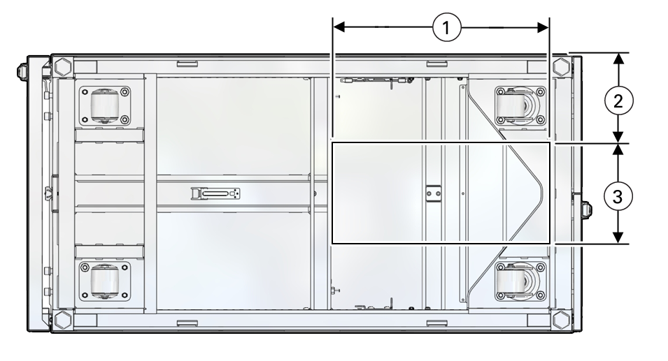 Attractive Image:Floor Cutout Dimensions For The Oracle Rack Cabinet 1242.