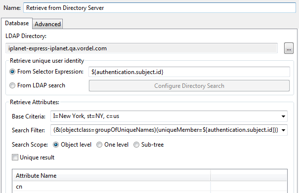 Active Directory for authentication and RBAC of management