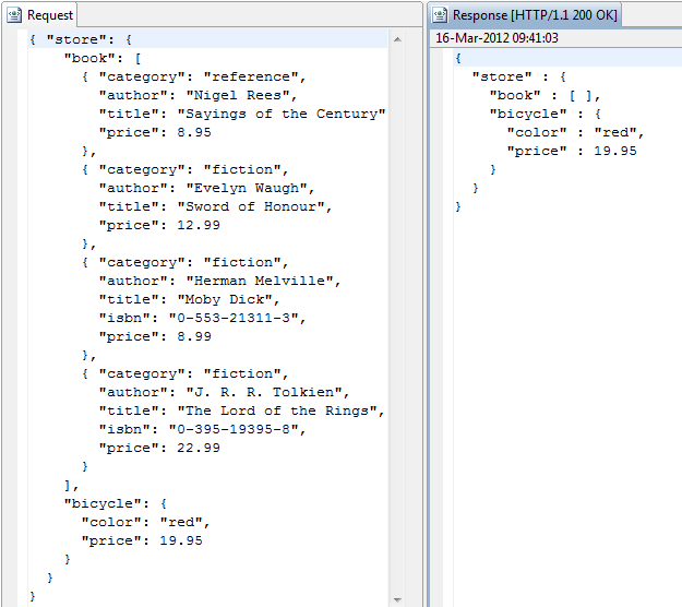 Ios http request and json parsing example.