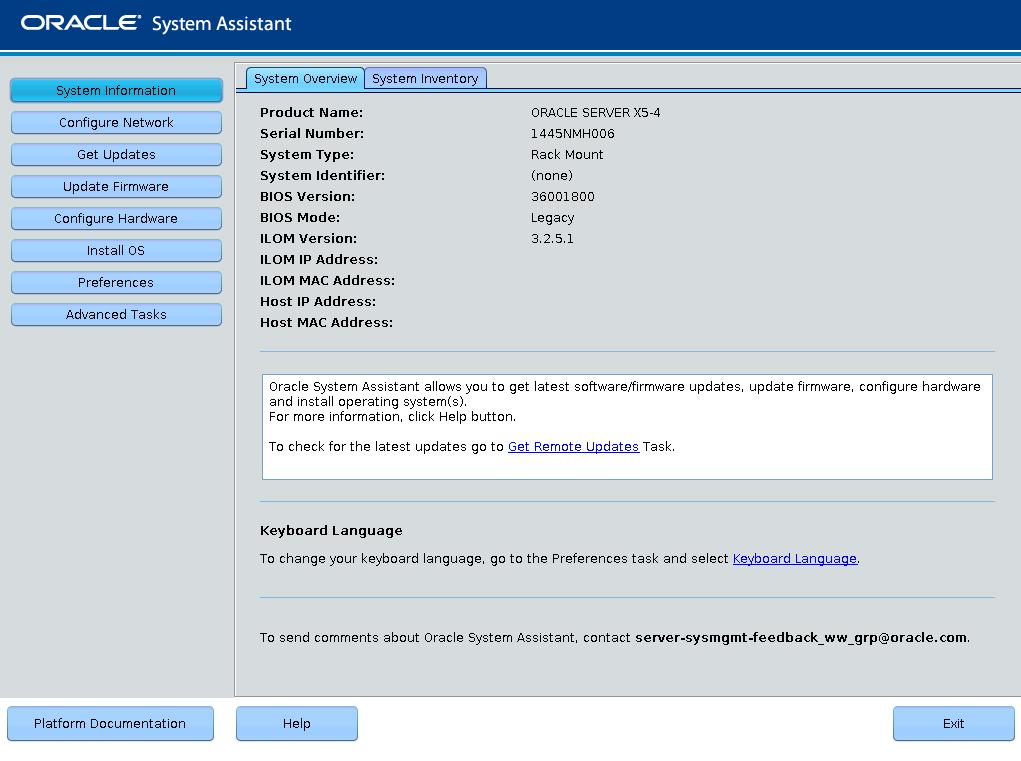 configure raid using oracle system assistant oracle server x5 4 rh docs oracle com Screen Capture Web Screen Capture Web