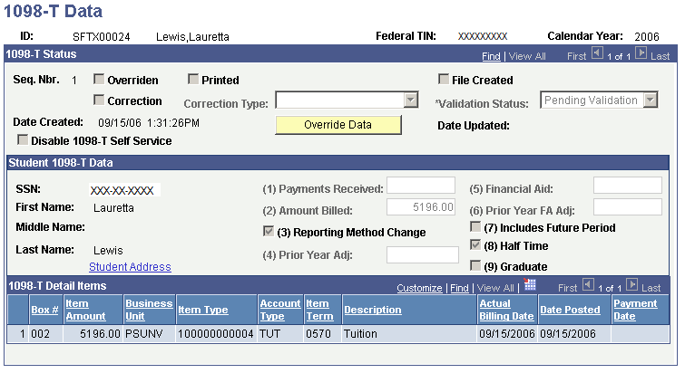 Producing And Filing 1098 T Tax Forms