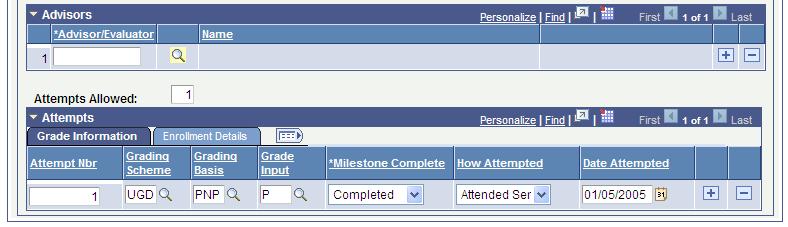 tracking milestones
