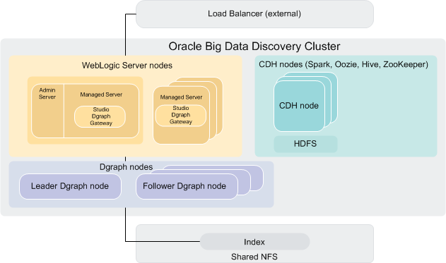 Diagram Of A Big Data Discovery Cluster