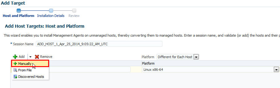 Installing Oracle Management Agents 13c Release 1