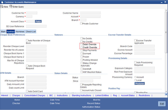 4. Customer Accounts