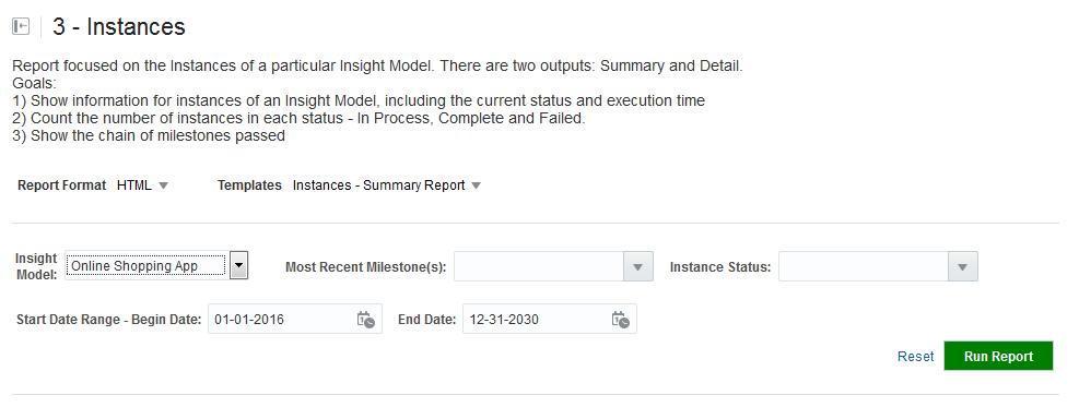 5 4 Running Instances Report