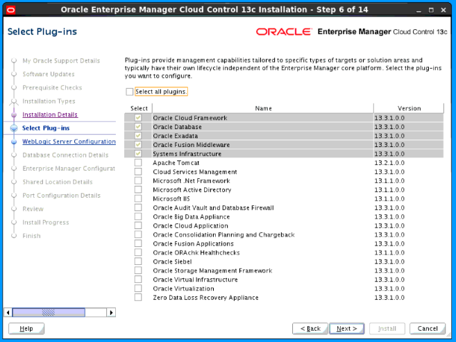 Installing Oracle Enterprise Manager Cloud Control
