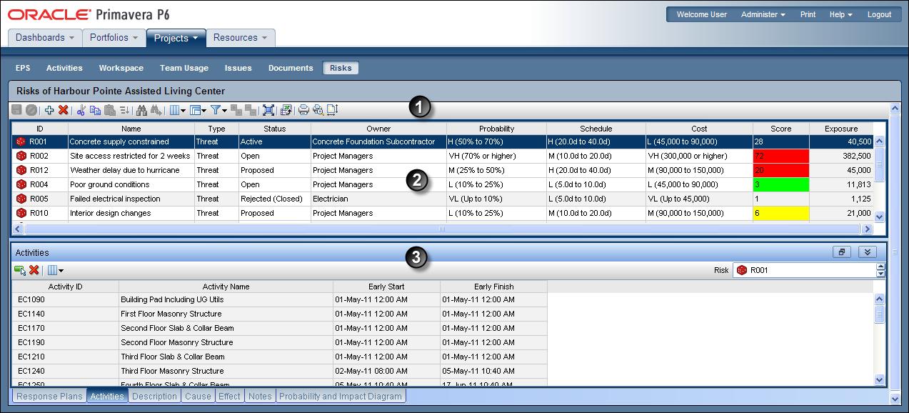 oracle primavera p6 user guide 16 r2 rh docs oracle com primavera risk analysis guide Pertmaster Project Risk
